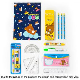 characters stationery set