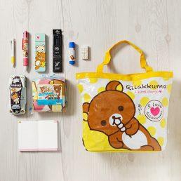Picnic-mat Bag School Essential Stationery Set