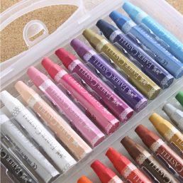 Safe Non-Toxic 24colors Crayon