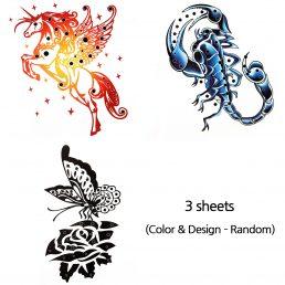 Stencil Printing Premium Ink Tattoo Sticker