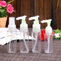Shampoo Body Wash Portable Spray Pump Bottles Set