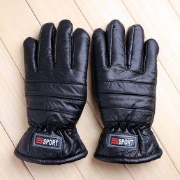 PU Inside Fluffy Warm Winter Gloves