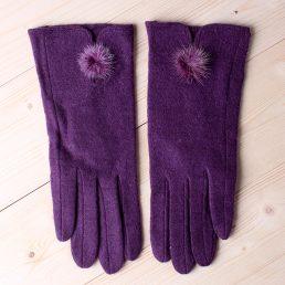 Women Elegant Fleece Glove