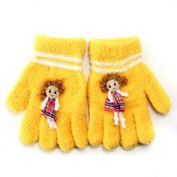 Lovely Doll Polapolis Wool Kids Gloves