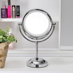 Double-sided 360° Rotating Makeup Stand Mirror