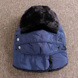 Head Neck Soft Fuzz Lining Mask Warmer